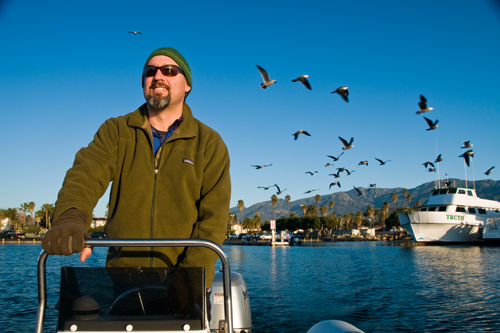 Leaving the SB Harbor